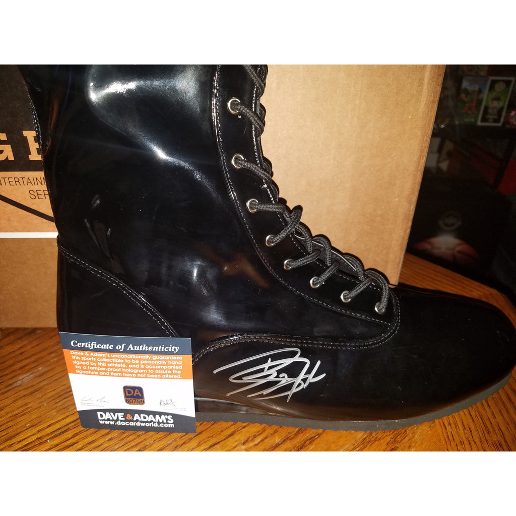 Big Show Autographed Wrestling Boot with COA WWE, WCW Legend
