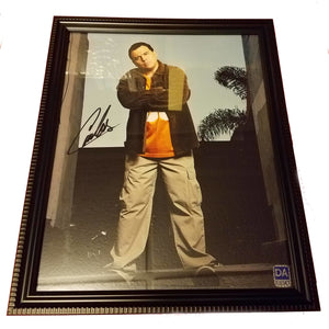 Carlos Mencia Autographed 8x10 Picture Framed COA Mind Of Mencia