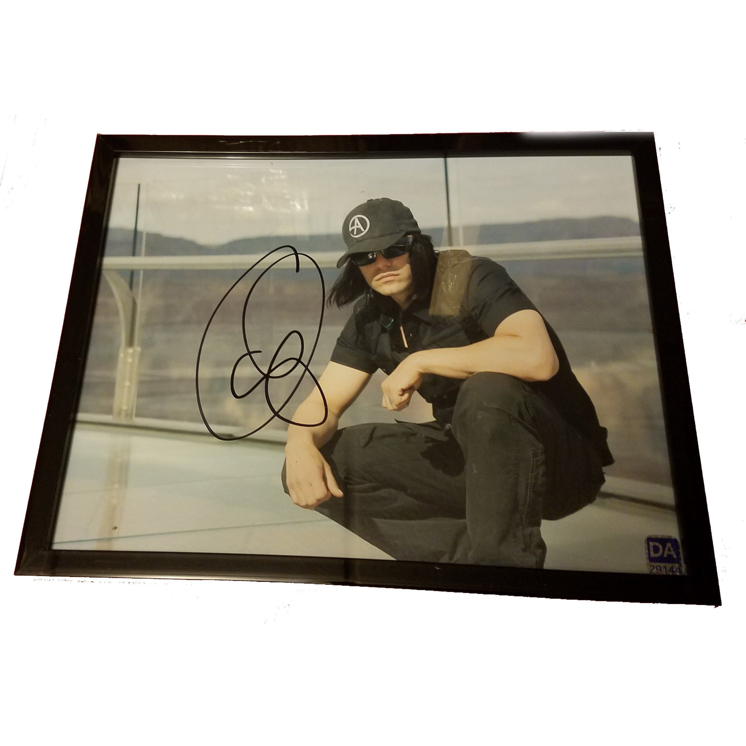 Criss Angel Autographed 8x10 Framed Photo with COA Magician Performer