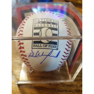 Dave Winfield Autographed Hall Of Fame Baseball with COA and Display