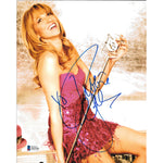 Debbie Gibson XO Inscribed 8x10 Picture White Frame with COA Singer