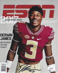 Derwin James 8x10 AUTO SIGNED Florida St Los Angeles Chargers JSA COA