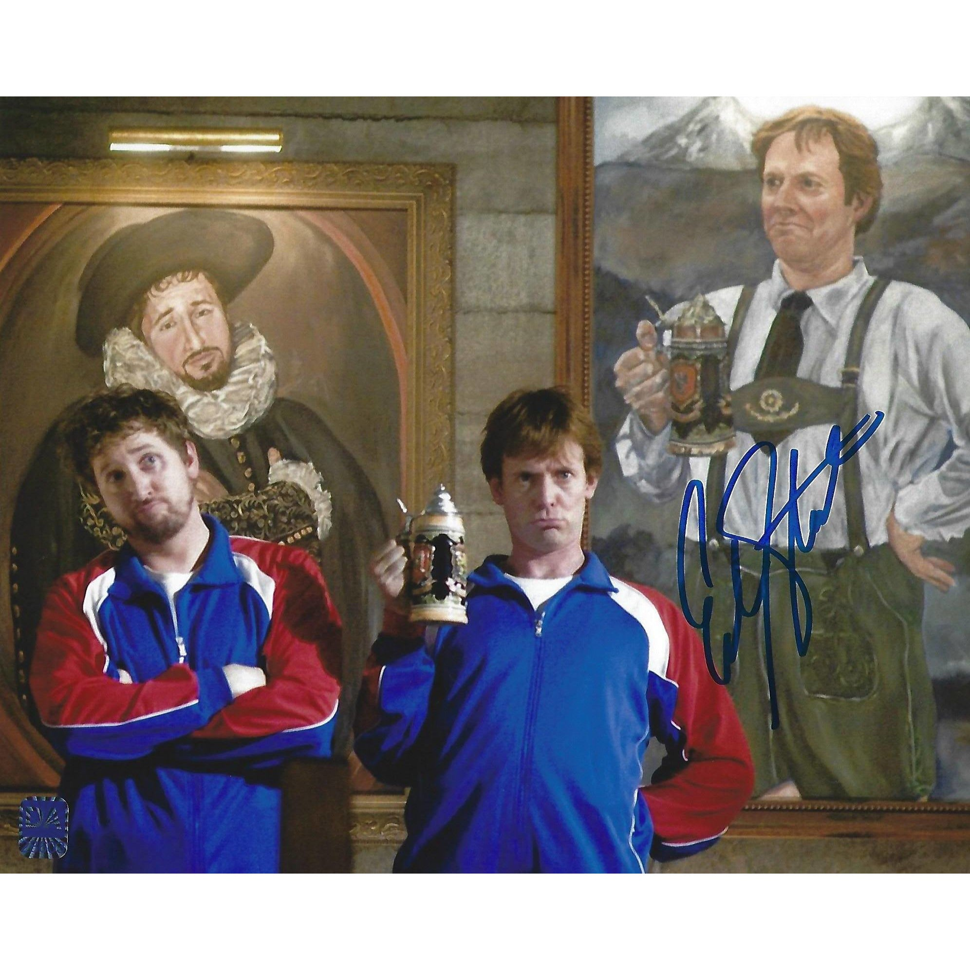 Erik Stolhanske Autographed 8x10 Picture with COA Beerfest Super Troopers