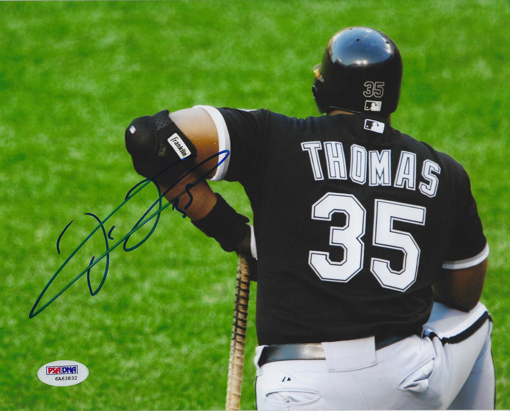 Frank Thomas 8x10 AUTO SIGNED Photo Chicago White Sox PSA DNA COA