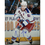 Jaromir Jagr 8x10 Autographed Framed Picture COA New York Rangers