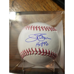 Jim Palmer HOF 90 Inscribed Autographed Baseball with COA and Display