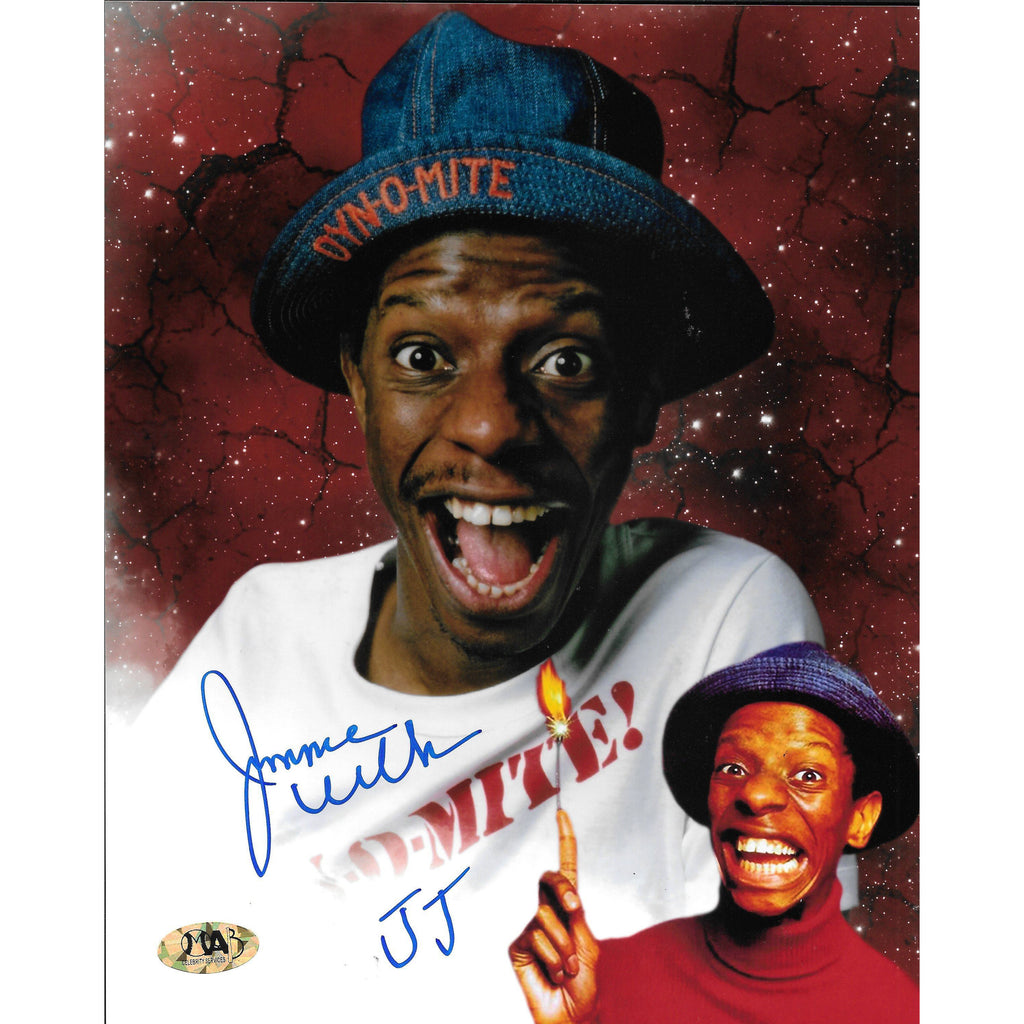 Jimmie Walker Autographed 8x10 Framed Picture COA JJ Evans Good Times