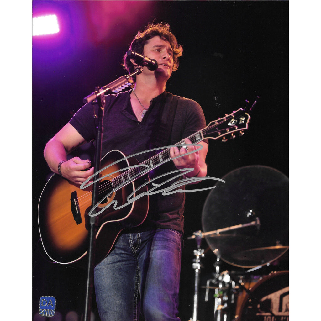 Joe Nichols Autographed 8x10 Framed Picture with COA Country Music