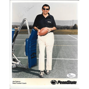 Joe Paterno 8x10 Autographed Photo Framed with JSA COA Penn St