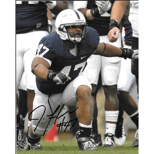 Jordan Hill 8x10 Framed Photo with COA Penn St PSU Super Bowl