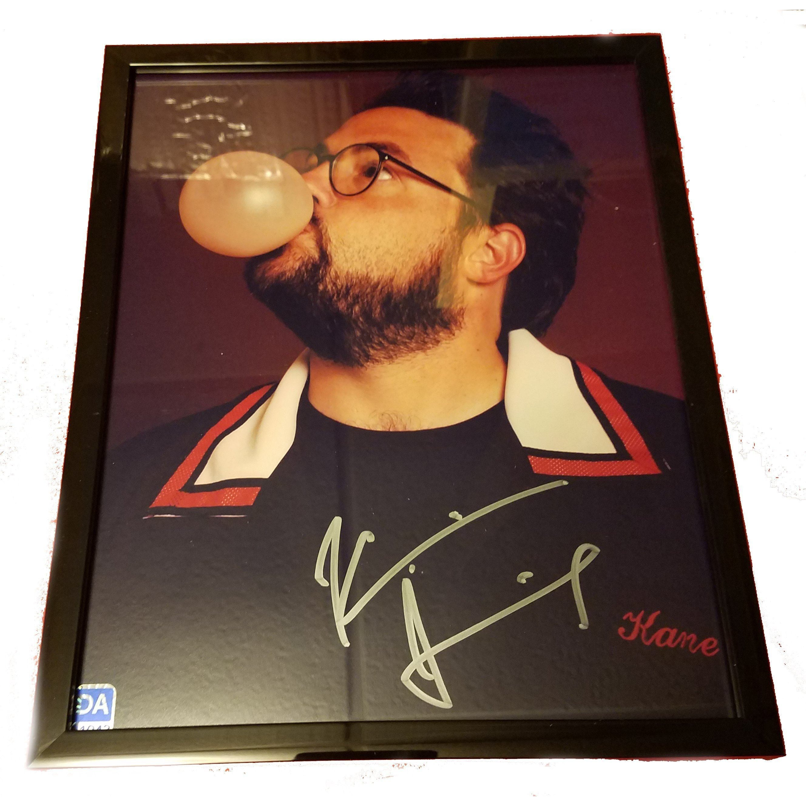 Kevin Smith 8x10 Autographed Photo COA with Frame Director Silent Bob
