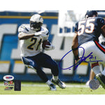 LaDainian Tomlinson Autographed 8x10 Framed Photo COA Chargers