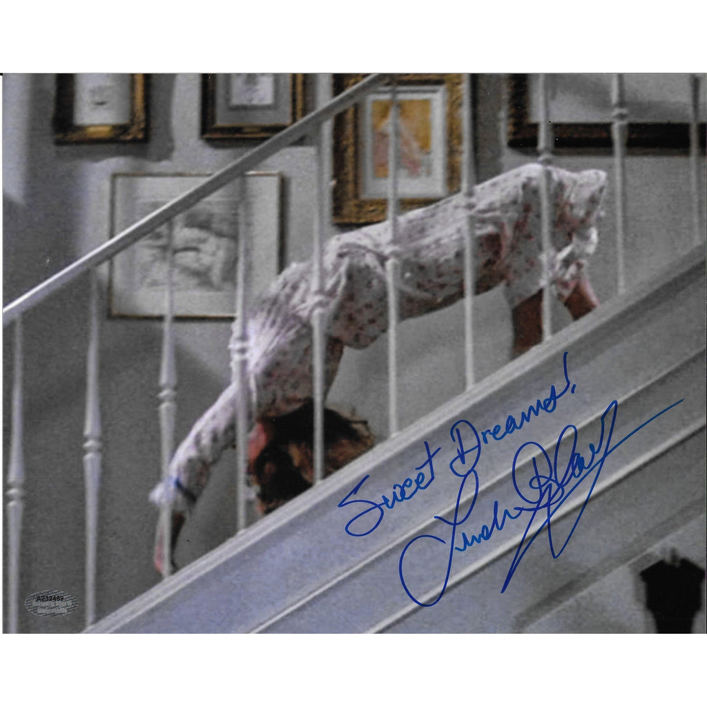 Linda Blair Sweet Dreams Autographed 8x10 Framed Photo COA Exorcist
