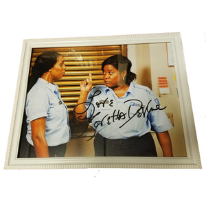 Loretta Devine Autographed 8x10 Framed with COA Jumping The Broom