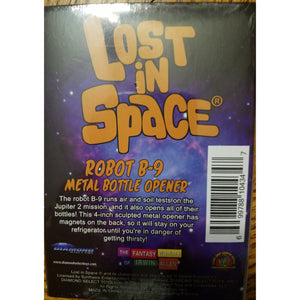 Lost In Space Robot B-9 Metal Bottle Opener Great Gift For Grandfather