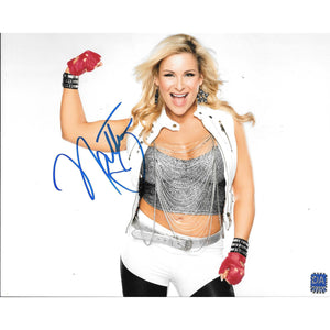 Natalya Neidhart Autographed 8x10 Framed with COA WWE Champ