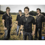 Parmalee Autographed 8x10 Signed By All Four Members Framed with COA
