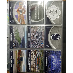 Penn State Silver Parallel Team Set w/ All Americans & Silas Redd Auto