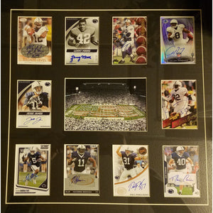 Penn State PSU All Time Greats Framed Collection Autographed Edition
