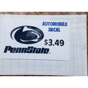 Penn State Nittany Lions PSU Vinyl Car Truck Stickers College Football