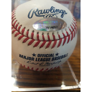 Rich Goose Gossage Autographed Baseball with COA and UV Ball Display