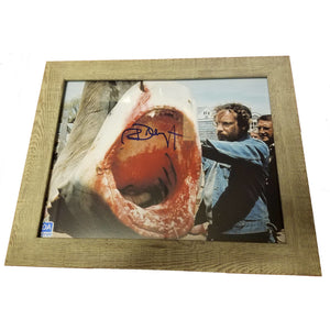 Richard Dreyfuss Autographed 8x10 Photo Framed COA JAWS Star