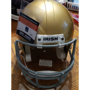 Sean Astin Rudy Movie Autographed Notre Dame Replica Helmet with COA
