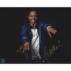 Silento Autographed 8x10 Framed COA Rapper Watch Me Whip It Nae Nae