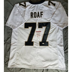 Willie Roaf HOF Autographed New Orleans Saints Jersey JSA COA