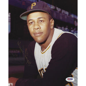 Willie Stargell Autographed 8x10 Framed Picture COA Pittsburgh Pirates