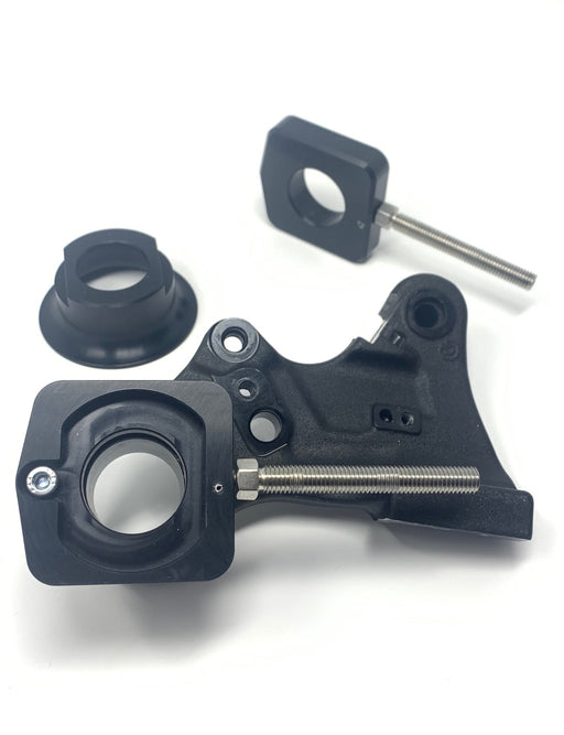 Rear Caliper Retainer Kit Including Captive Chain Adjusters