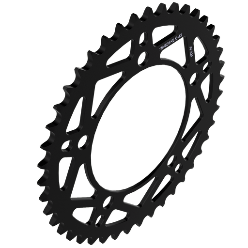 AFAM Rear Sprocket Steel - T43