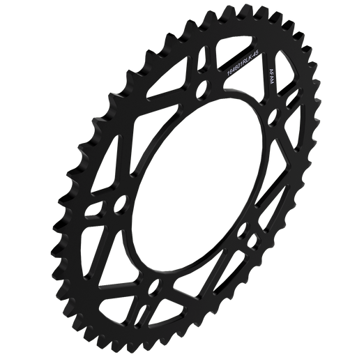 AFAM Rear Sprocket Steel - T45