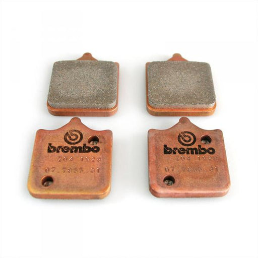 Brake pad set Brembo Racing Z04, front, 2009-2018