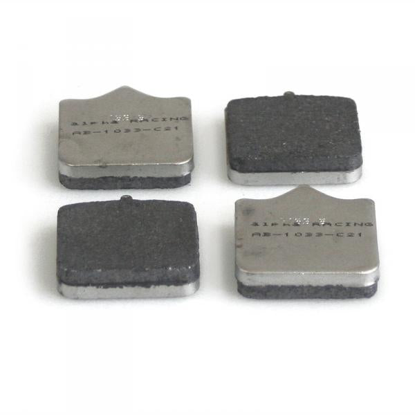 Brake pad set Duo Carbon, front, 2009-2018