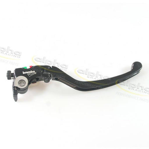 Brake lever racing long complete, for Brembo 19RCS