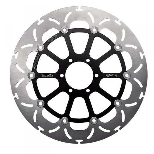 Front brake disc 320x5, for racing rim