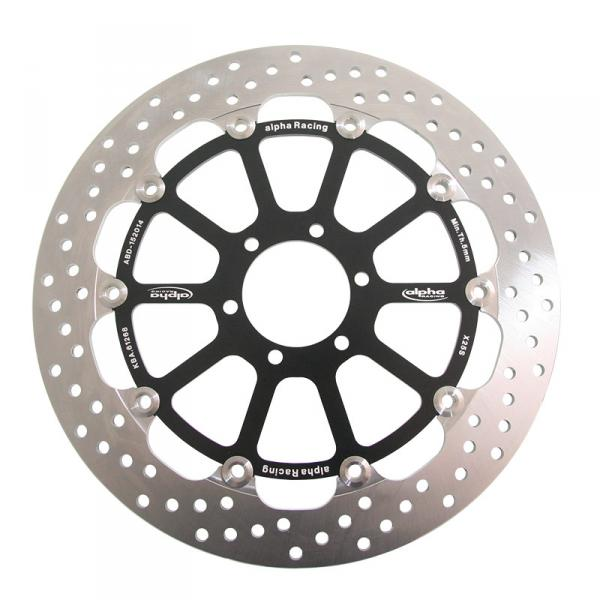 Front brake disc 320x6 EVO, left floating