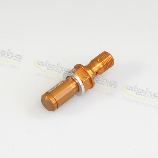 Hollow screw bleeding valve M10 x1x19 gold