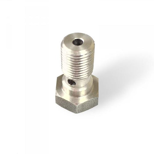 Hollow screw M10x1 stainless steel