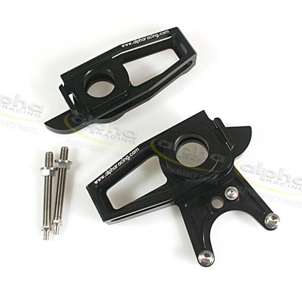 Chain adjuster kit SBK, brake caliper 64mm