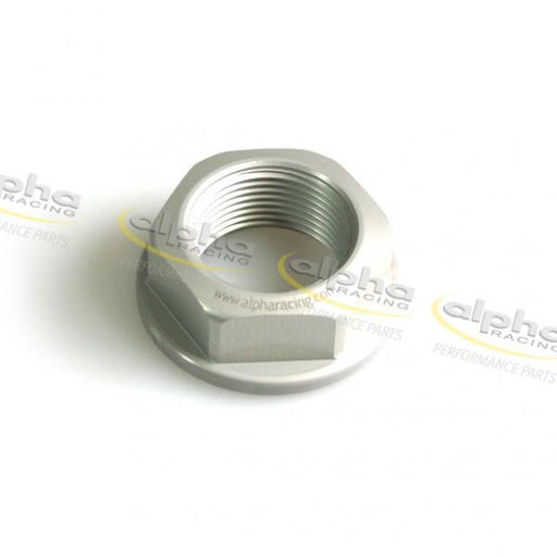 Hexagonal rear axle nut