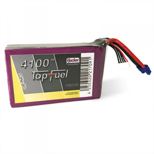 Racing battery LiFe-EC 4100mAh 4S TopFuel