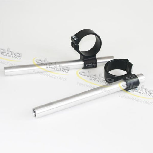 Handle bar set mod., 7° tube angle with fix clamp