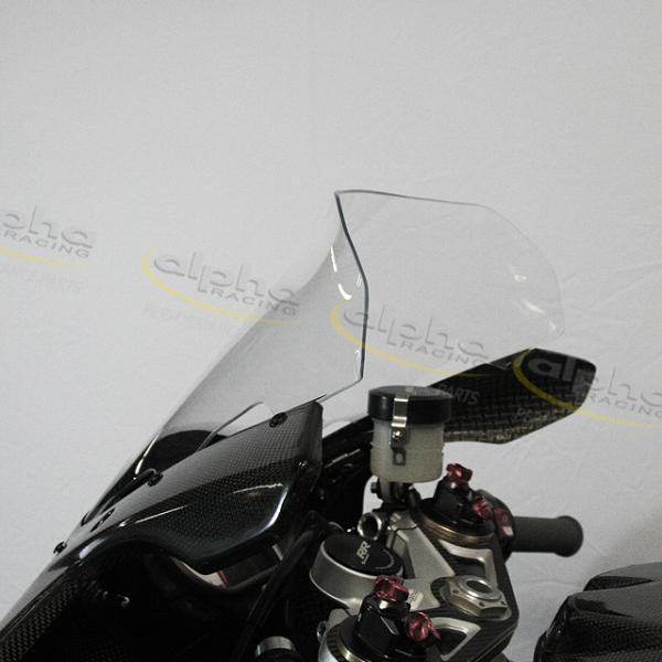 Wind screen Racing spoiler clear, 15-18