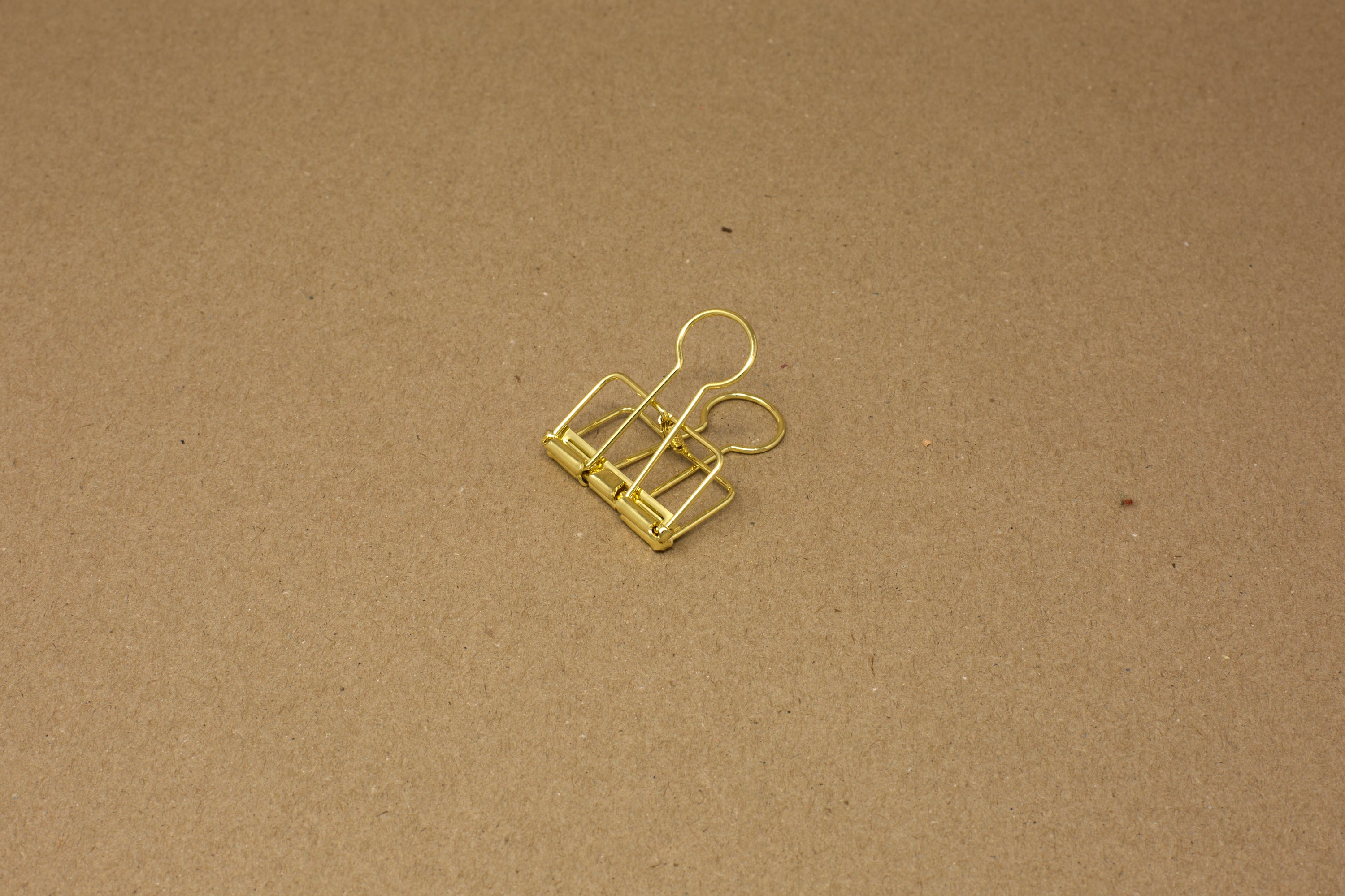 Gold Hanging Paper Clip