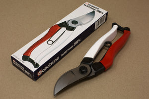 Okatsune Secateurs Standard No. 103 red and white handle