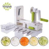 Five 5 Blade Veggie Spiralizer