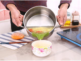 Creative Anti-Spill Soup Dispenser