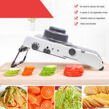 Professional Grade Stainless Steel Vegetable Slicer